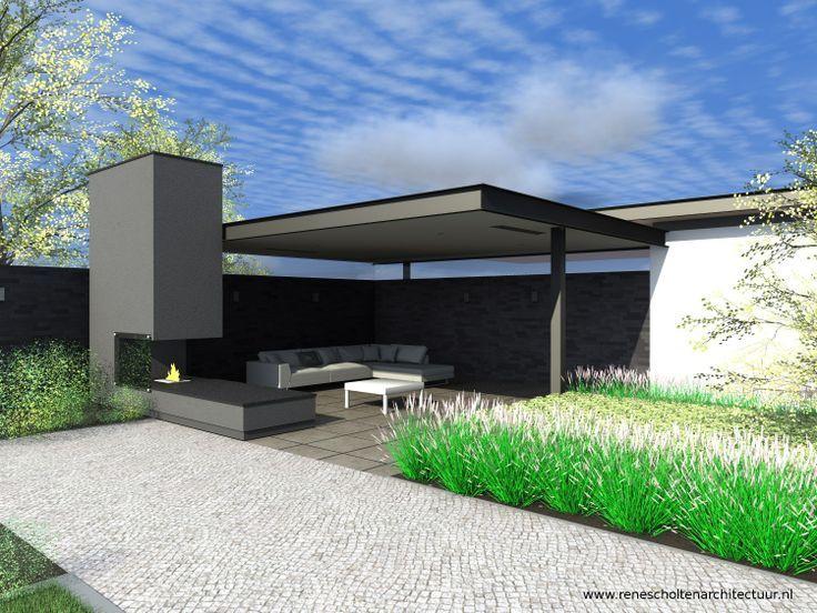 buitenkamer in achtertuin modern - Google zoeken
