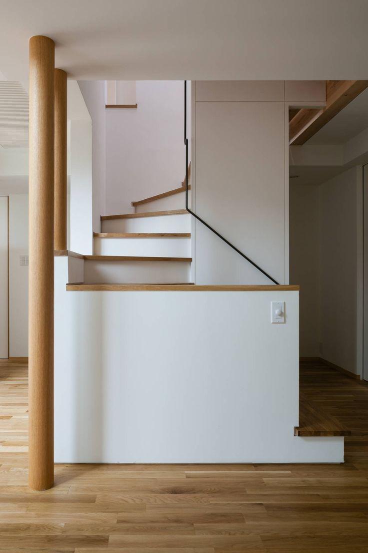 ブライシュティフト の 廊下&階段 久が原の家