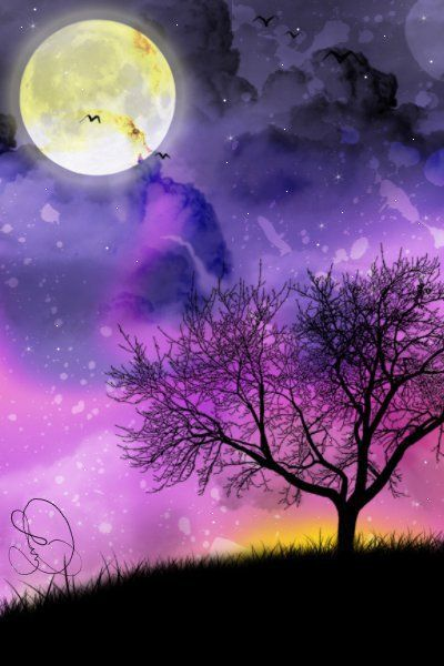 full moon <3