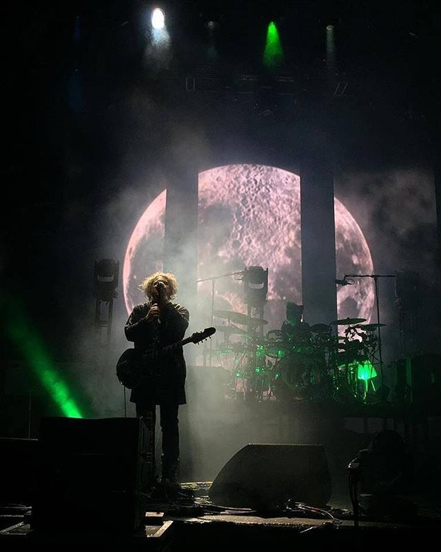 Robert Smith during The Cure Tour 2016 #TheCure #SuperBlueBloodMoon