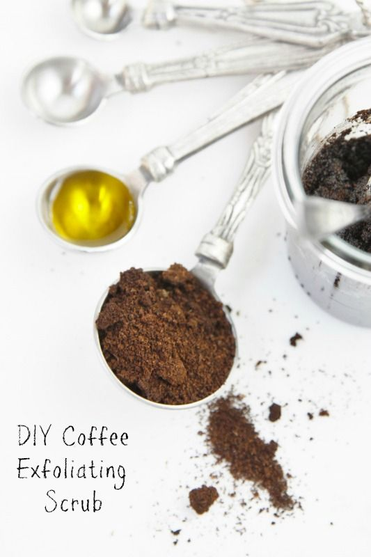 ... Coffee Beyond the Cup (Including this DIY Exfoliating Coffee Scrub