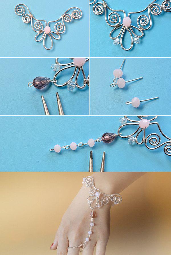 316 best WIRE WORK RINGS & BRACELETS images on Pinterest | Jewelery ...