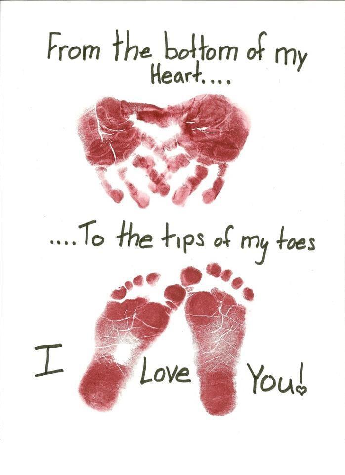 hands & feet - I love you