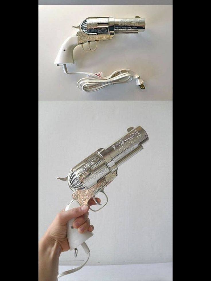 Gun blowdryer. Probably the coolest blowdryer ever!! Just for special clients!!!