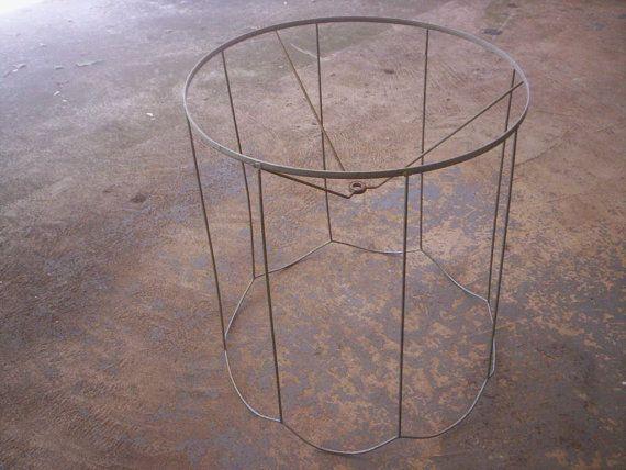 reusable lamp shade wire lamp shade lamp shade frame - Metal Lamp Shades