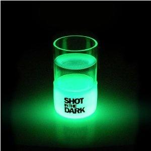 Shot in the Dark Glow in the Dark Shot Glasses 4-Pk: Dark Shot, Gadgets, Gift Ideas, Shot Glasses, Things, Glow In The Dark, Drinks, Design