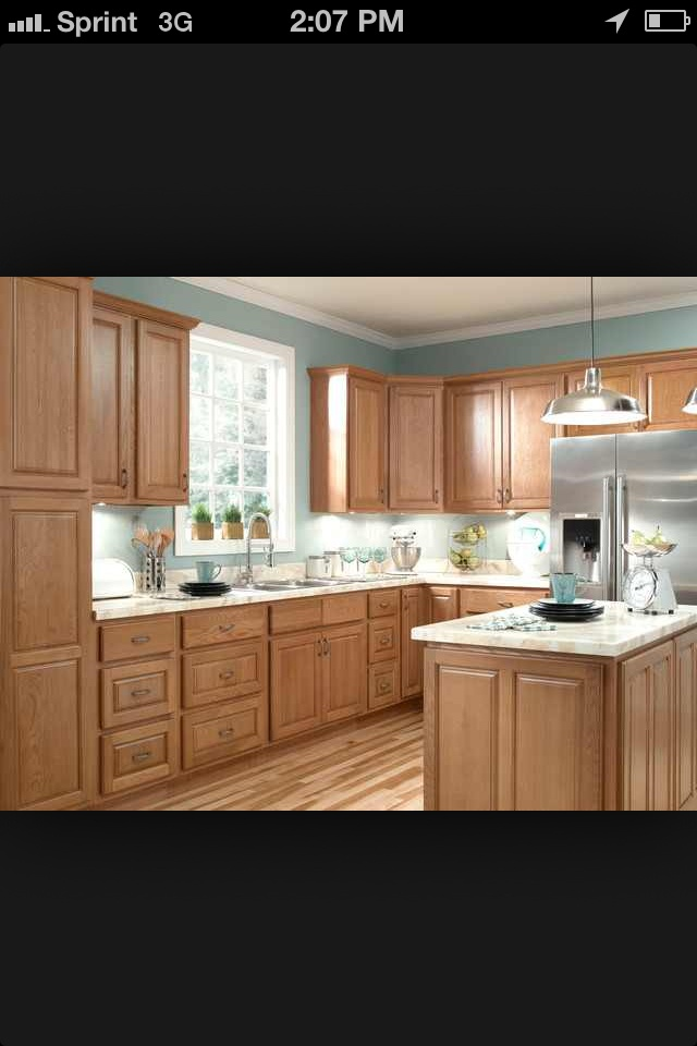 Examples Of Kitchens With Oak Cabinets