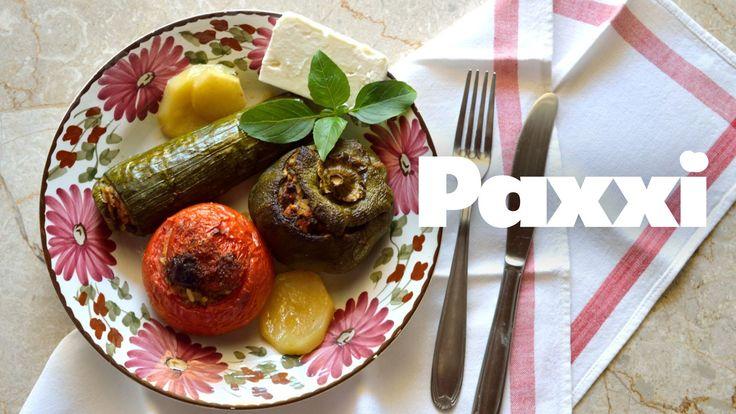 Τα γεμιστά της μαμάς - Paxxi Ε34 - Mum's gemista