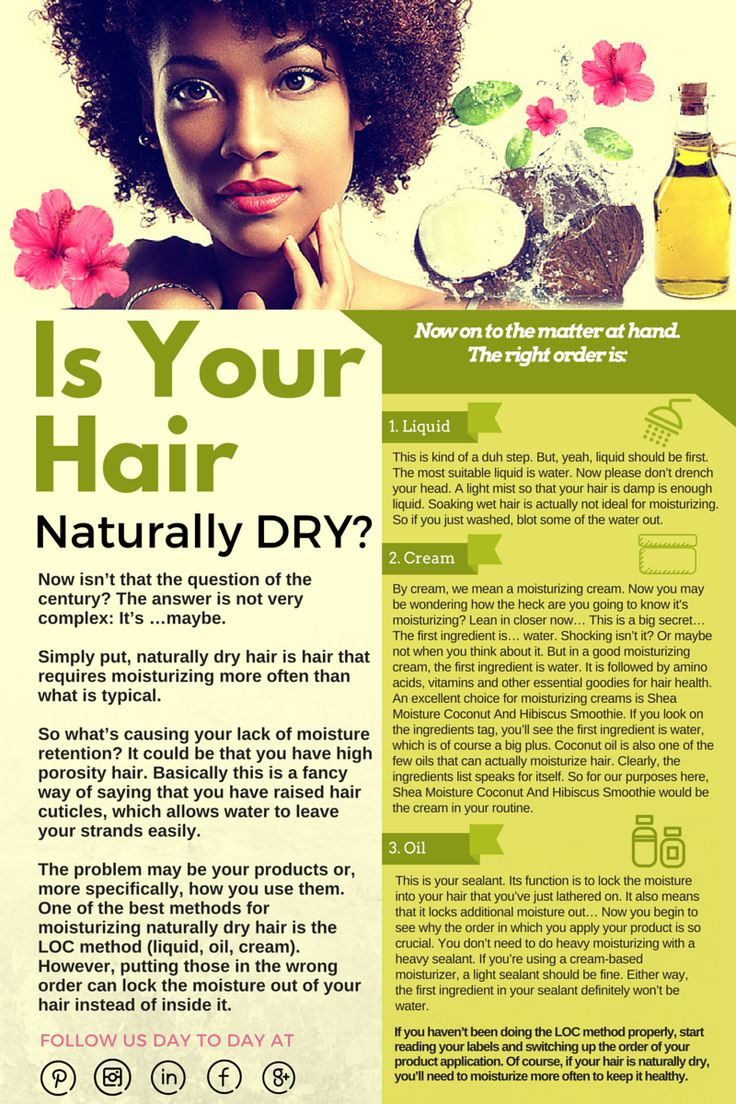 Is Your Hair Naturally DRY??