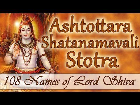 Lord shiva names 25 pinterest shiva stotra ashtottara shatanamavali 108 names of lord shiva youtube voltagebd Gallery