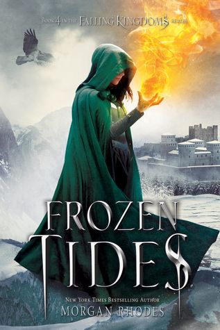 Cover Reveal: Frozen Tides (Falling Kingdoms #4) by Morgan Rhodes -On sale December 15th 2015 by Razorbill -CLEO: Reeling after a bloody showdown in Limeros ending with Amara's abduction of the water crystal, and a vacancy in the Mytican throne, Princess Cleo must cast aside her feelings and look toward her kingdom with the eyes of a Queen.