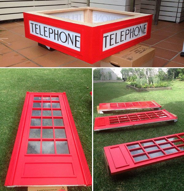 telephone box made by Derek Forbes photo 2