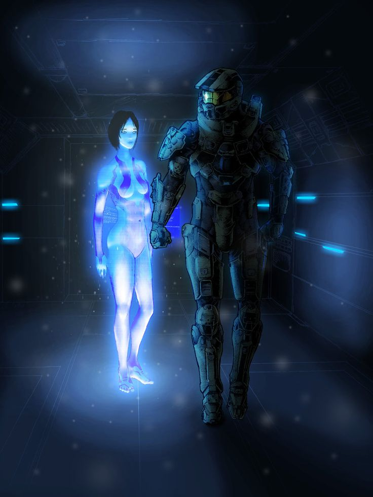 Halo - Master Chief and Cortana by thorup on DeviantArt
