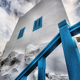 Nisyros, Aegean sea house