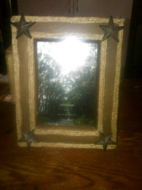Western picture frame I made