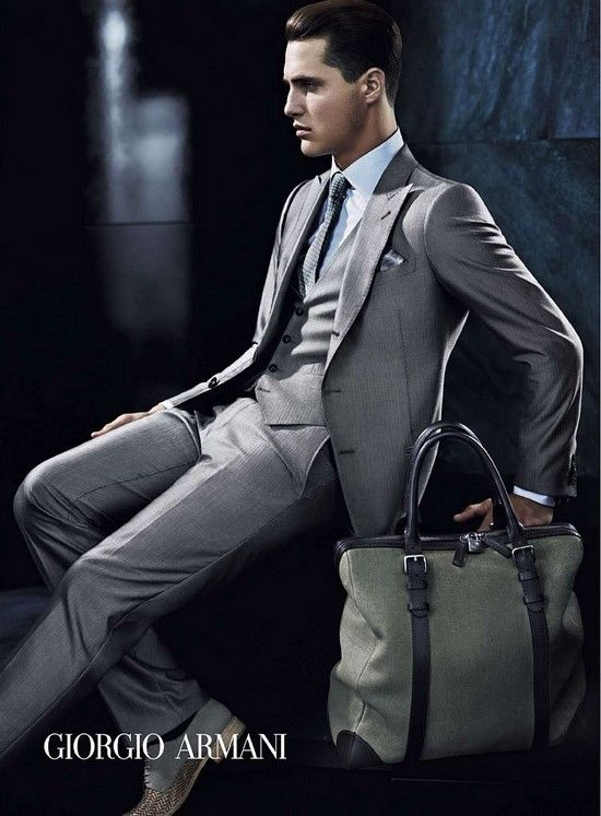 Giorgio Armani for Men.