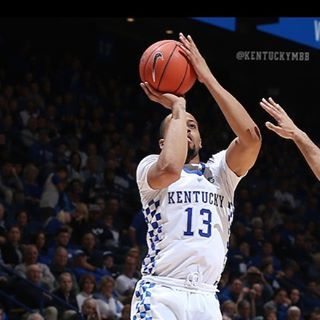 Isaiah Briscoe has made a career high three 3-pointers on as many attempts tonight. He's made five in a row dating to the UNC game