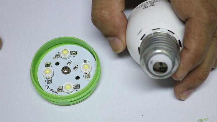 Konvertieren Sie Essstabchen Tube Zu Led Birne 12v Diy Led Lampe Lampe