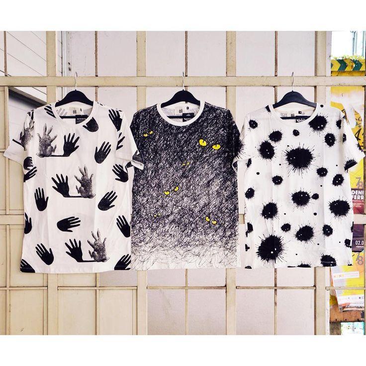 You favourite worst nightmares  men t-shirt szputnyik funny bunny shadows monsterssusuwatari blackandwhite