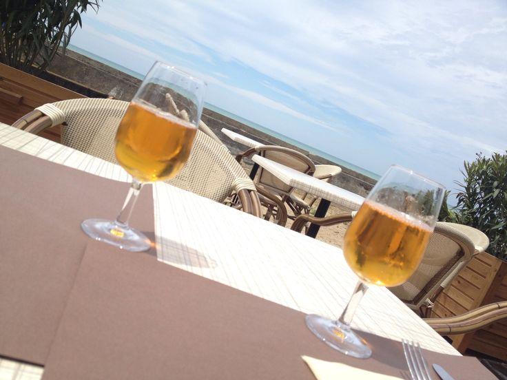 vue de la terrasse du Nina d'Asti
