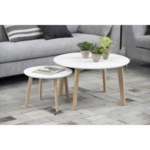 Met deze moderne set van 2 tafels haal je de Scandinavische woonsfeer in huis. Combineer deze grijze bijzettafel en salontafel door ze bij elkaar te zetten of afzonderlijk naast de bank bijvoorbeeld. Leverbaar in wit en donkergrijs.Afwerking: Wit gespotenKleur: WitLevering: Gratis bezorgd in Nederland en BelgiëAfgeleverd: Dit product vereist zelfmontage d.m.v. een praktische montagehandleidingIn hoogte verstelbaar: NeeMerk: 24DesignsMateriaal poten: EssenhoutMateriaal tafelblad: HoutVorm…