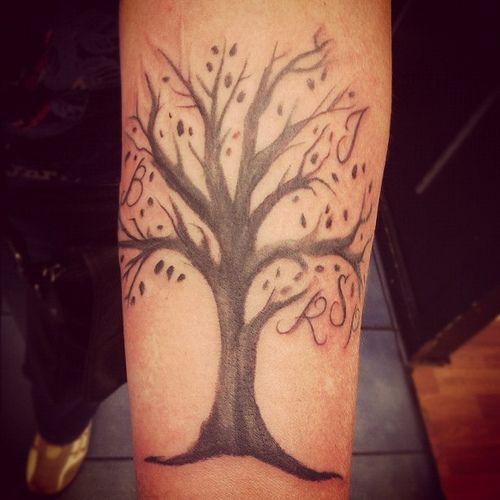 Family tree #tattoo #willemxsm | Flickr - Photo Sharing