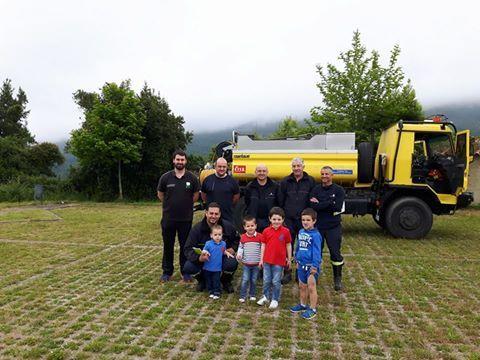 Visita Bomberos de Asturias en las IV Jornadas del Medio Ambiente 2016