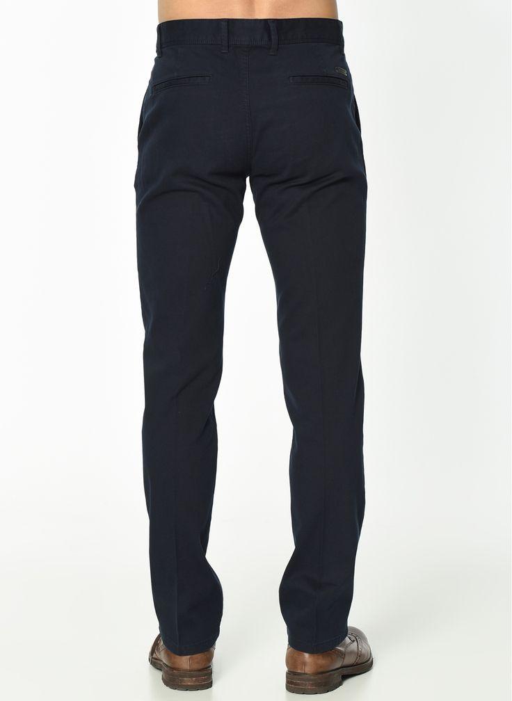 Недорогие утепленные мужские брюки темно синего цвета - Otokodesign.com