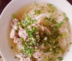 ベトナムフォー風乳麺 : お葱さん。