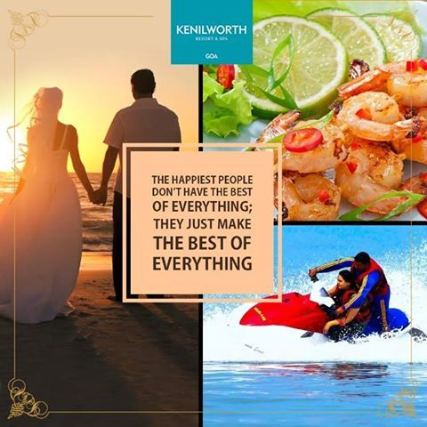 Come join us for some treasured moments of love, fun and adventure. Let's be a part of the most cherished memories you harbour.  #Memories #Fun #Adventure #KenilworthHotels #Restaurant #Resort #Spa #Goa