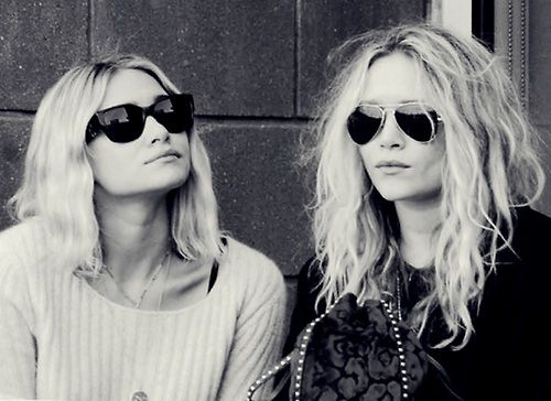 Hair.  Hi, I'm Mary Kate And I'm Ashley  And we're the Olsen twins Aka Portia and Abby!