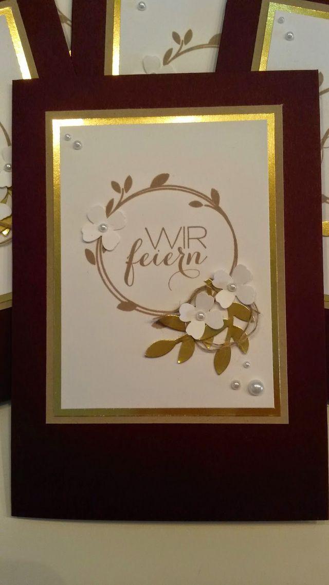 goldene hochzeit papiertr ume stempelliebe bloglovin. Black Bedroom Furniture Sets. Home Design Ideas