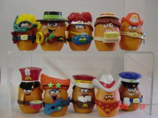 AAAAAHHH omg i used to collect these, by far my favourite and most memorable Happy Meal toys of my childhood! I haven't seen them in years...ooh i wish so much i could get the whole set now!