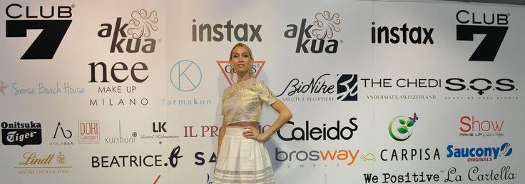 Eleonora Abbagnato alla mostra del cinema di Venezia.