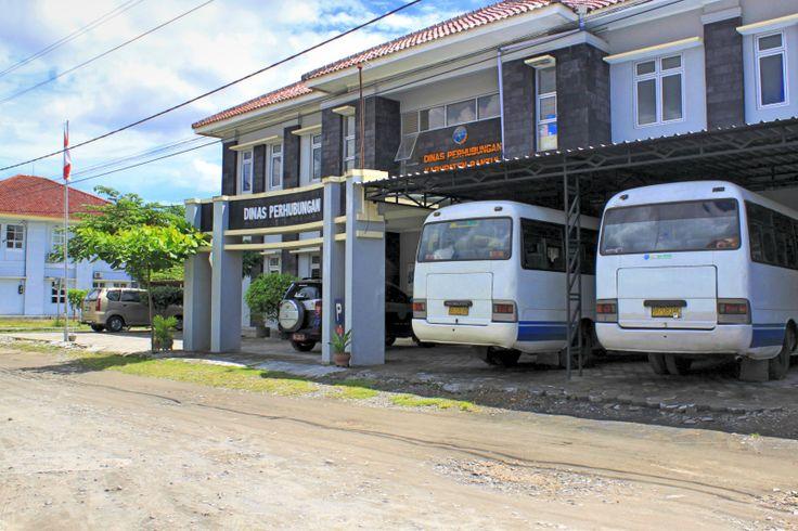 Kantor Dinas Perhubungan Kabupaten Bantul.