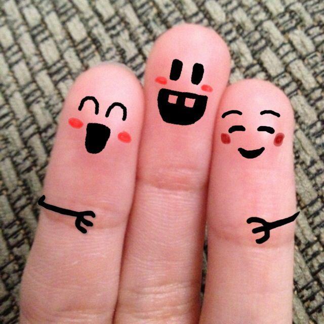 86 best Funny Finger Art images on Pinterest | Finger art, Finger ...