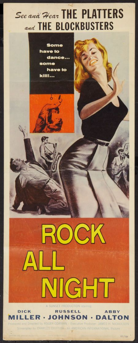 Rock and Roll movie posters | Movie Posters:Rock and Roll, Rock All Night (American International ...