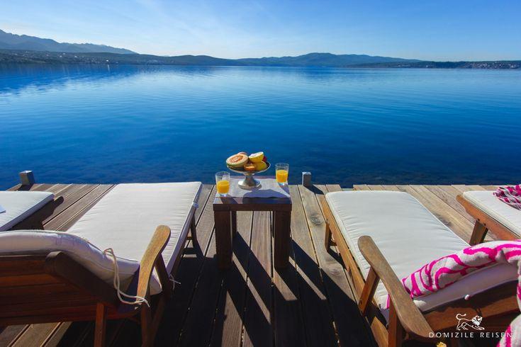Luxusvilla In Kroatien Mit Privatem Strand, Pool Und Service Direkt Am Meer