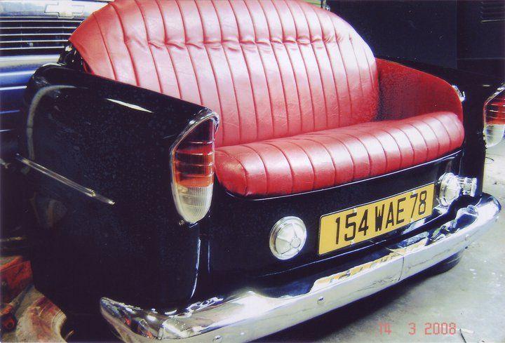 Black and Red  Car Sofa Idea NO.2