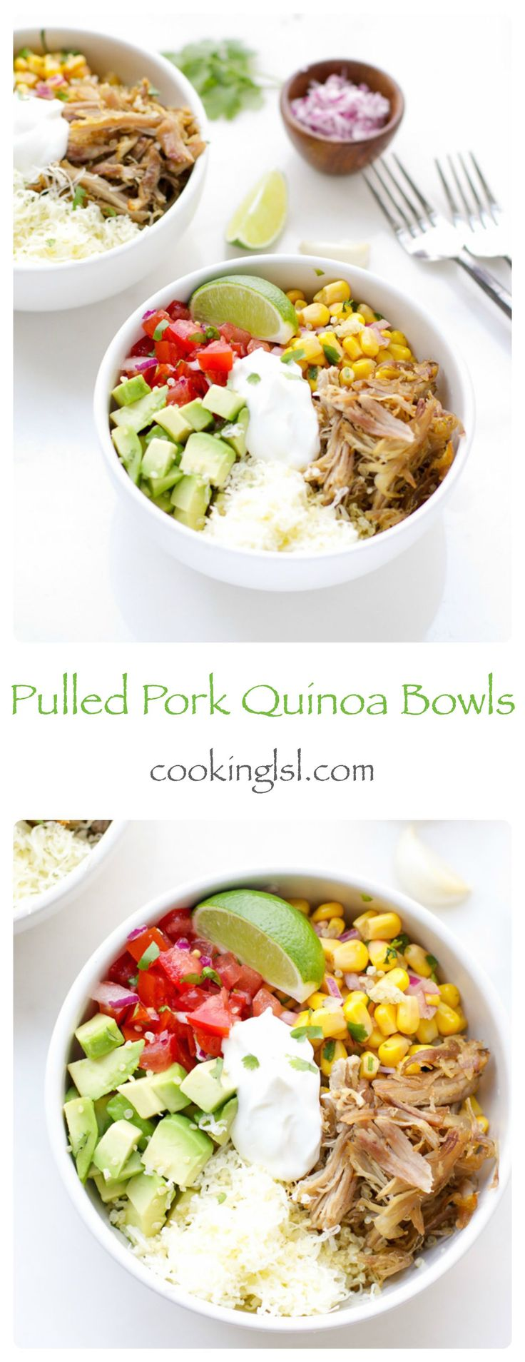 easy-dinner-ideas-pulled-pork-quinoa-bowls-carnitas-Mexican