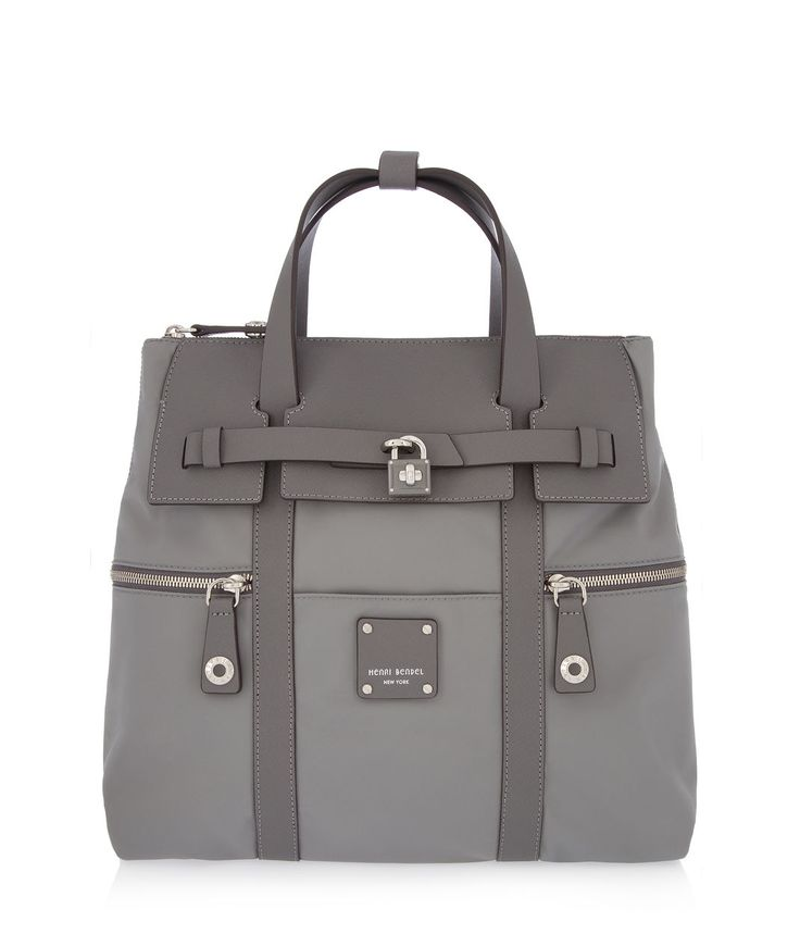 The Jetsetter Convertible Backpack, from the designer backpacks collection at Henri Bendel. Womens backpack changes to satchel or crossbody. Available in Light Blue.