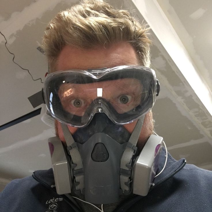 Safety first when sanding the products!