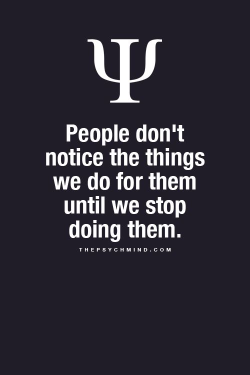 No reason for over doing things that go unnoticed already, can you say, being taken advantage of.