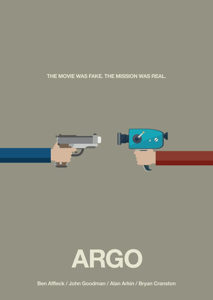 Day 214: Argo #amovieposteraday