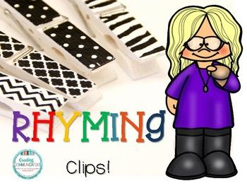A fun way to introduce rhyming..