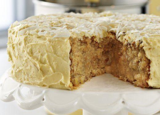 KitchenAid Stand Mixer recipe - Nutty hummingbird cake
