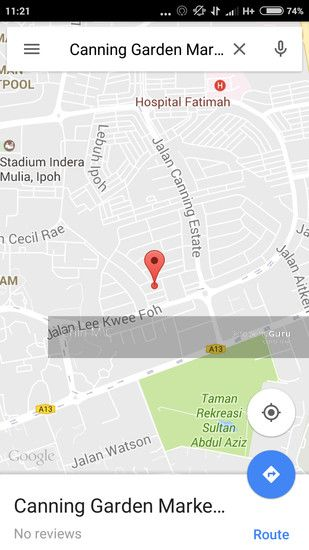 Residential Land for Sale - Canning Garden Ipoh, Bungalow land for SALE , Malaysia, RLAND,