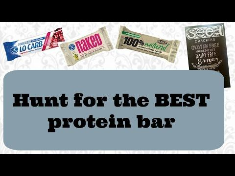 Hunt for the BEST protein bar - Aussie Bodies & Balance Nutrition - YouTube