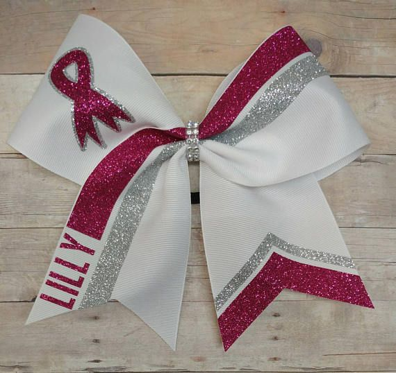 Hey, I found this really awesome Etsy listing at https://www.etsy.com/listing/519991994/breast-cancer-awareness-cheer-bow-pink