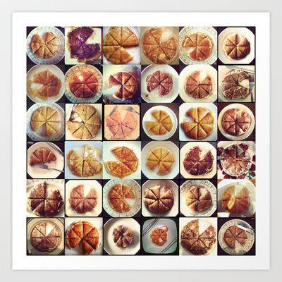 #pancakesForOne... Art Print by tracygrahamcracker - $20.00